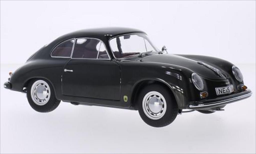 Miniature Porsche 356 A Carrera Coupe dunkelgrise 1957 Schuco. Porsche 356 A Carrera Coupe dunkelgrise 1957 miniature 1/18