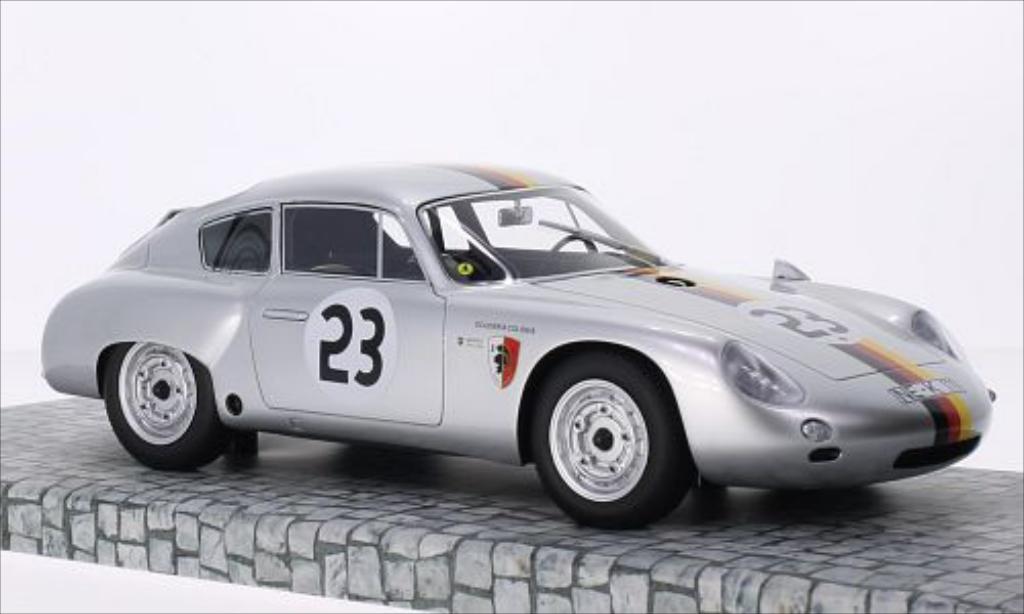 Porsche 356 B 1/18 Minichamps 1600 GS Carrera GTL Abarth No.23 Scuderia Colonia GP Solitude 1962 miniature