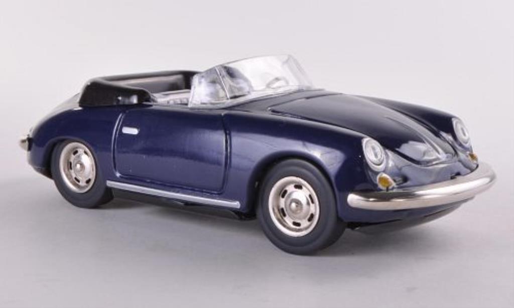 porsche 356 b carrera 2 cabriolet blau 1962 mcw modellauto. Black Bedroom Furniture Sets. Home Design Ideas