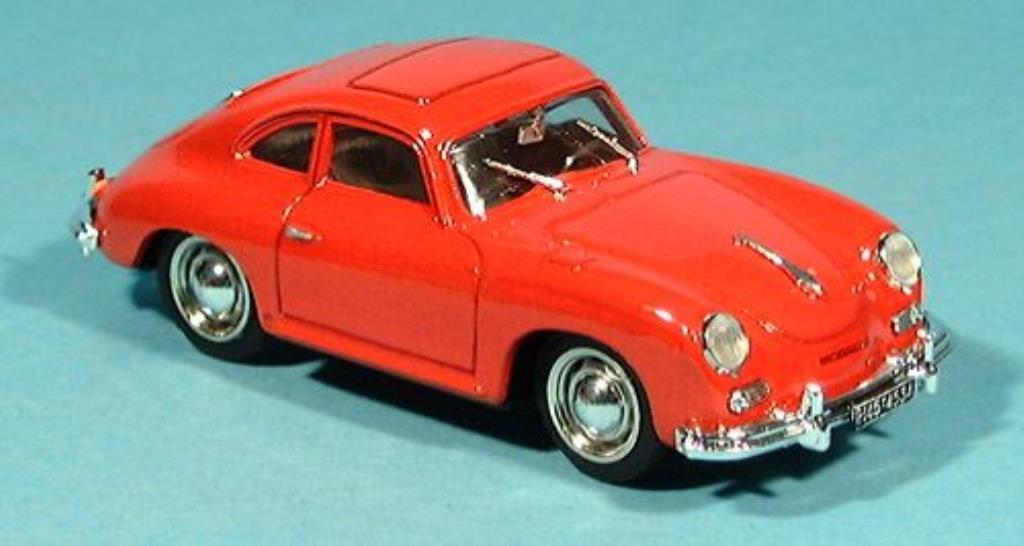 Porsche 356 1/43 Brumm Coupe rouge 1952 miniature