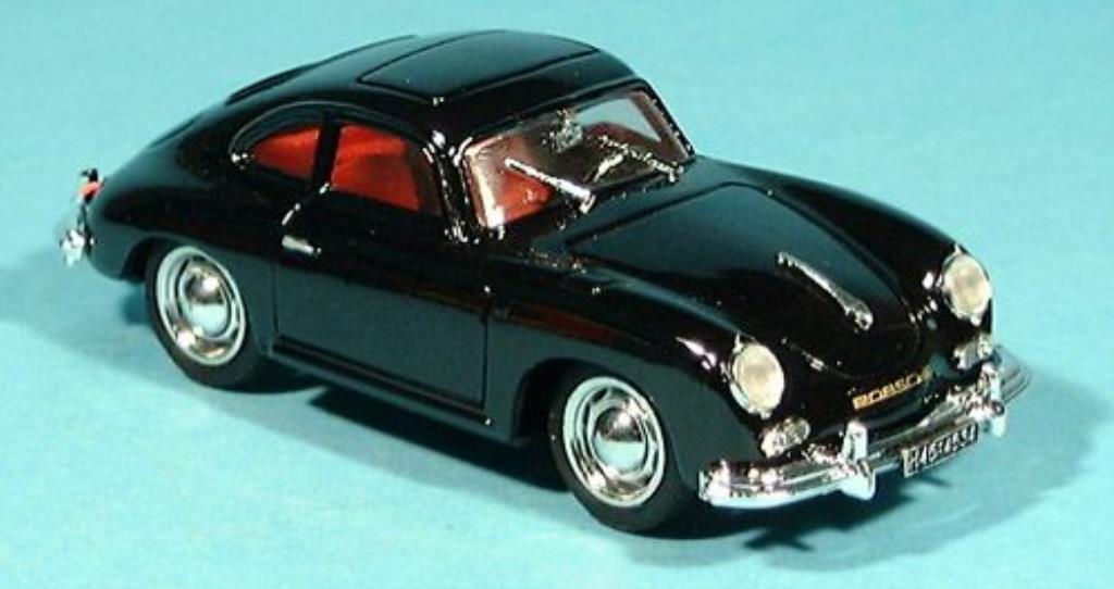 Porsche 356 1/43 Brumm Coupe noire 1952 miniature