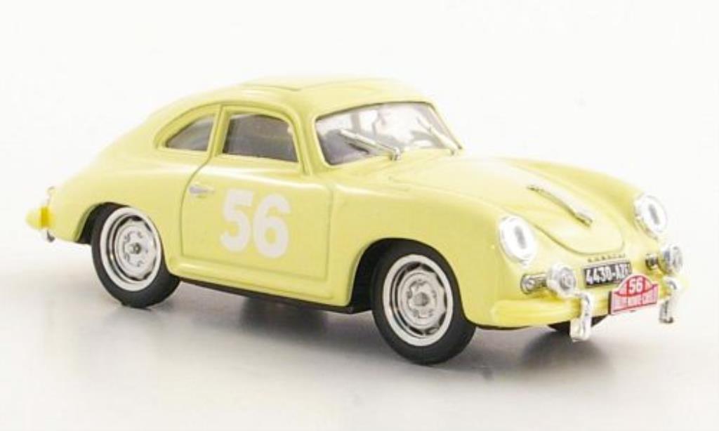 Porsche 356 1/43 Brumm No.56 Gacon / Buchet Rally Monte Carlo 1959