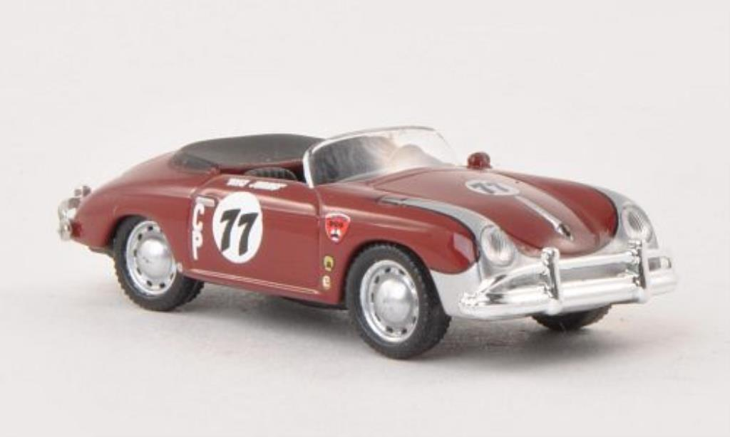 Porsche 356 1/87 Schuco Speedster No.77 Club Race miniature