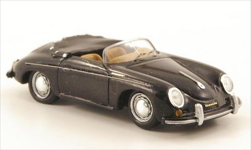 Porsche 356 1/87 Spark Speedster noire 1958 miniature