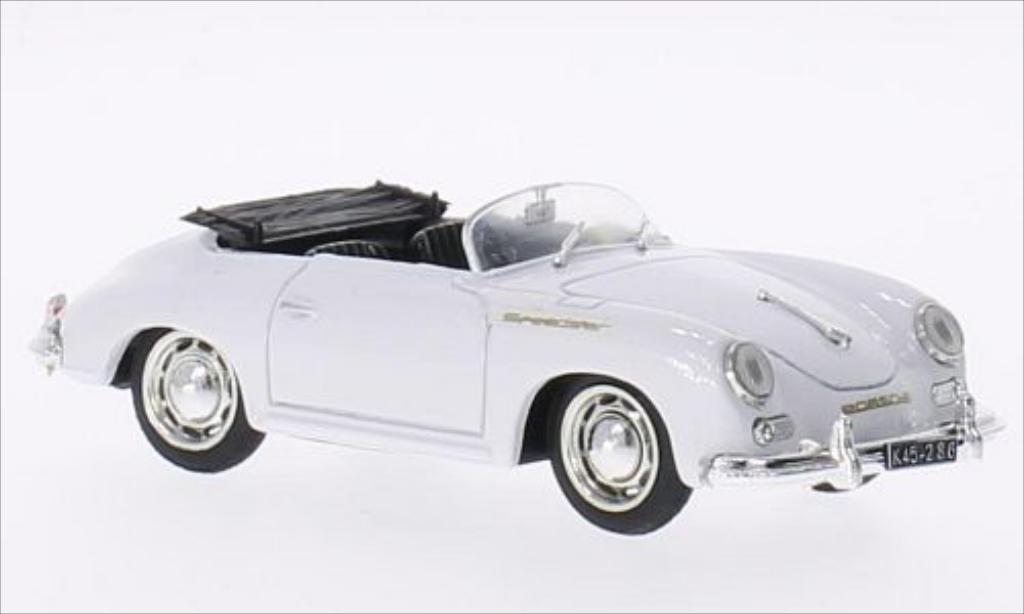 Porsche 356 1/43 Brumm Speedster white 1950 diecast model cars