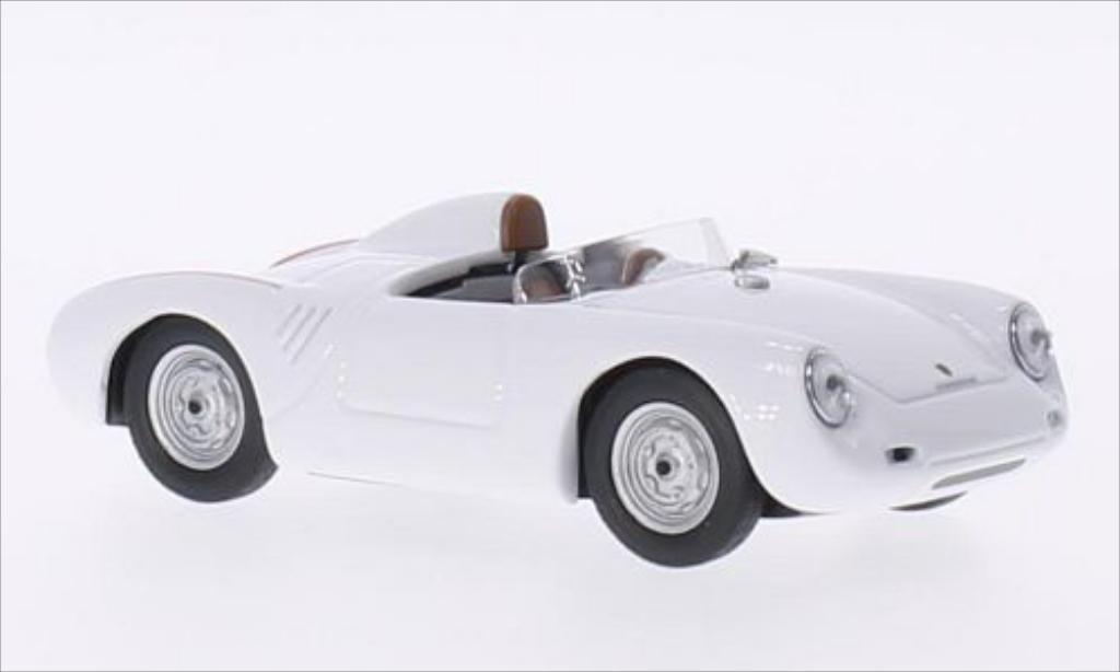 Porsche 550 1/43 Best white 1957 diecast model cars