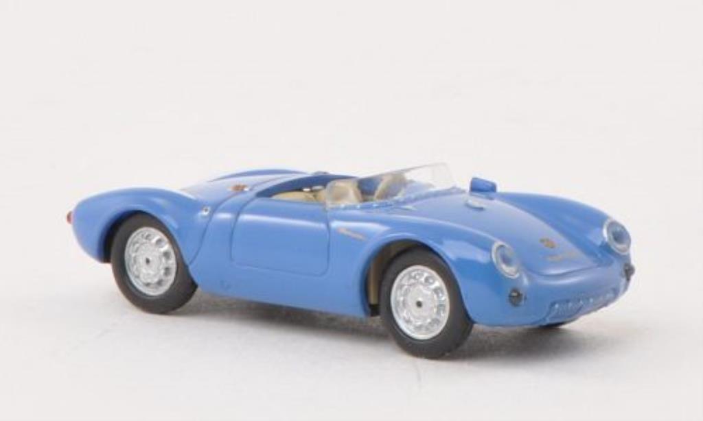 Porsche 550 1/87 Busch Spyder bleu/white 1953 diecast model cars