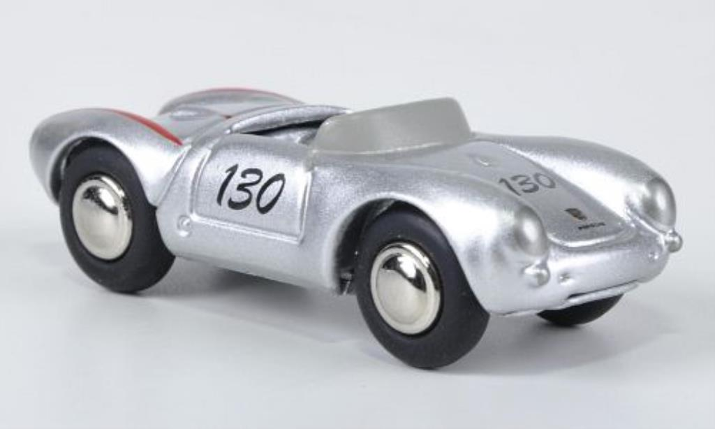 Porsche 550 1/87 Bub Spyder No.130 grise miniature