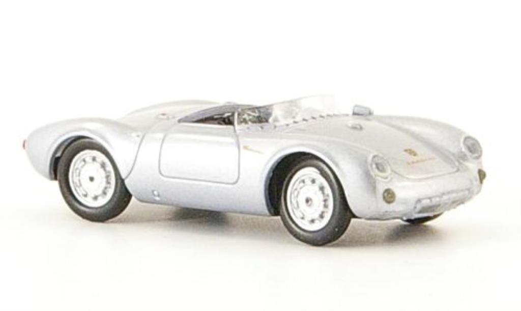 Porsche 550 1/87 Ricko Spyder grise 1953 miniature