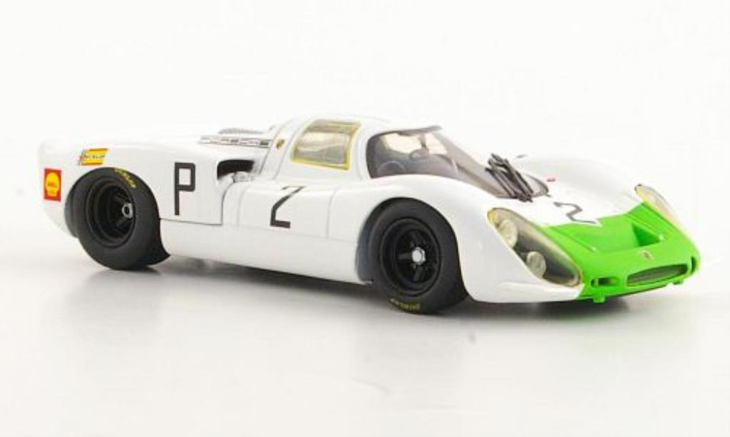 Porsche 908 1968 1/43 Minichamps No.2 J.Siffert/V.Elford ADAC 1000km Nurburgring diecast model cars