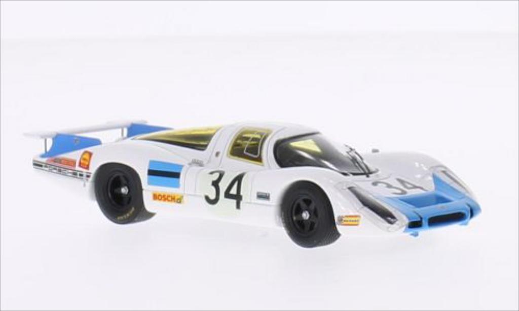 Porsche 908 1968 1/43 Spark No.34 24h Le Mans /S.Patrick diecast model cars