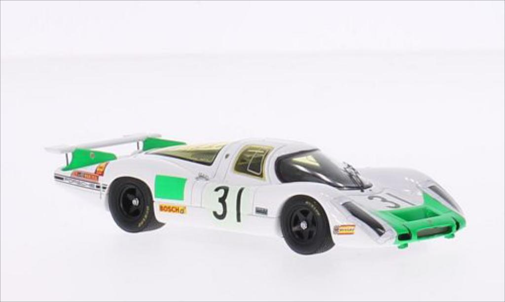 Porsche 908 1968 1/43 Spark RHD No.31 24h Le Mans /J.Siffert diecast model cars