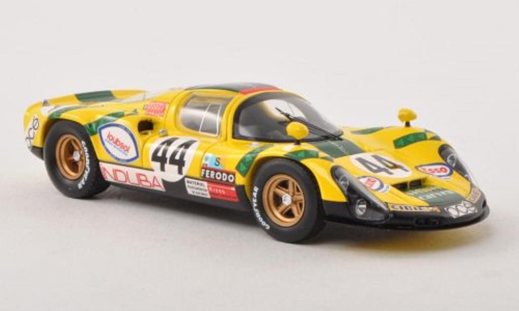 Porsche 910 1/43 Spark No.44 24h Le Mans 1974 /G.Cuynet miniature