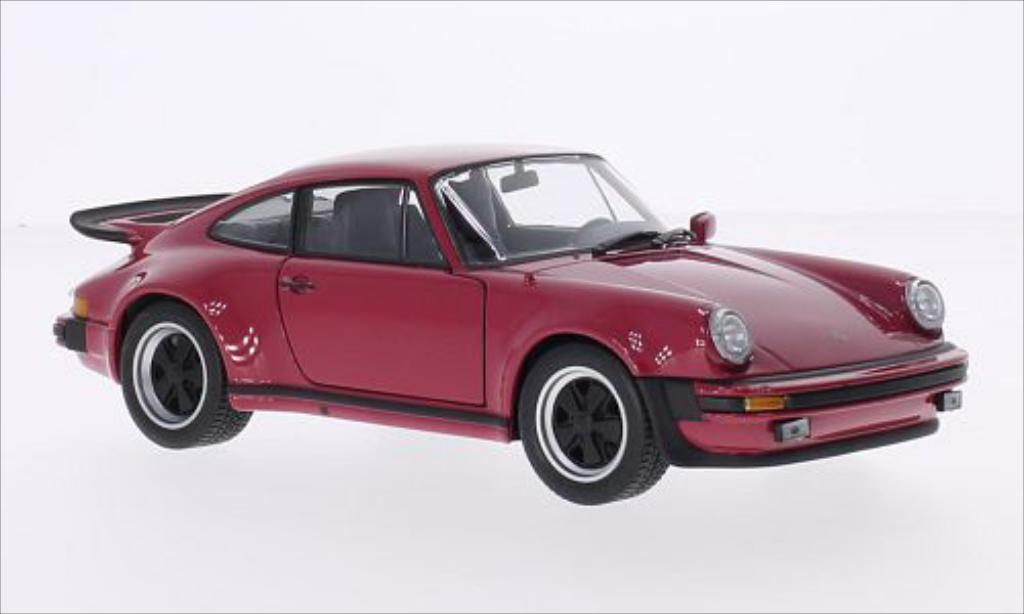 porsche 911 930 turbo 3 0 rot 1975 mcw modellauto 1 24 kaufen verkauf modellauto online. Black Bedroom Furniture Sets. Home Design Ideas