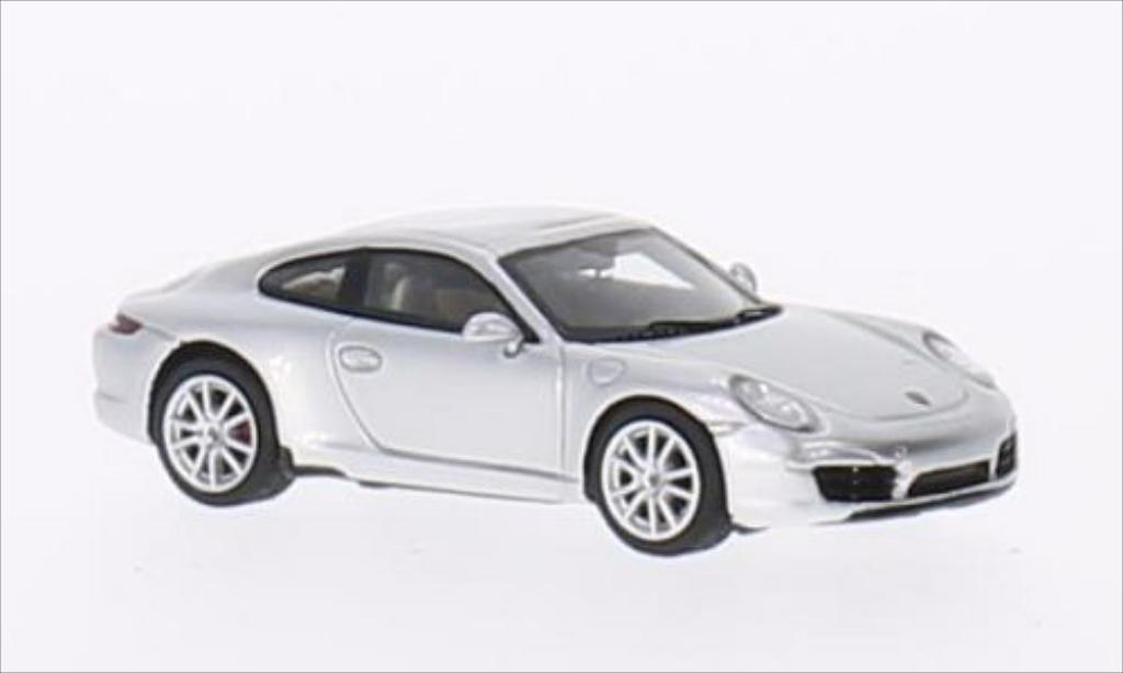 Porsche 991 S 1/87 Minichamps Carrera grey 2011 diecast model cars