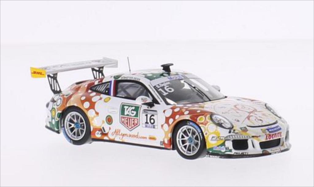 Porsche 991 GT3 Cup 1/43 Spark No.16 TAG Heuer Supercup Monaco 2013 diecast model cars