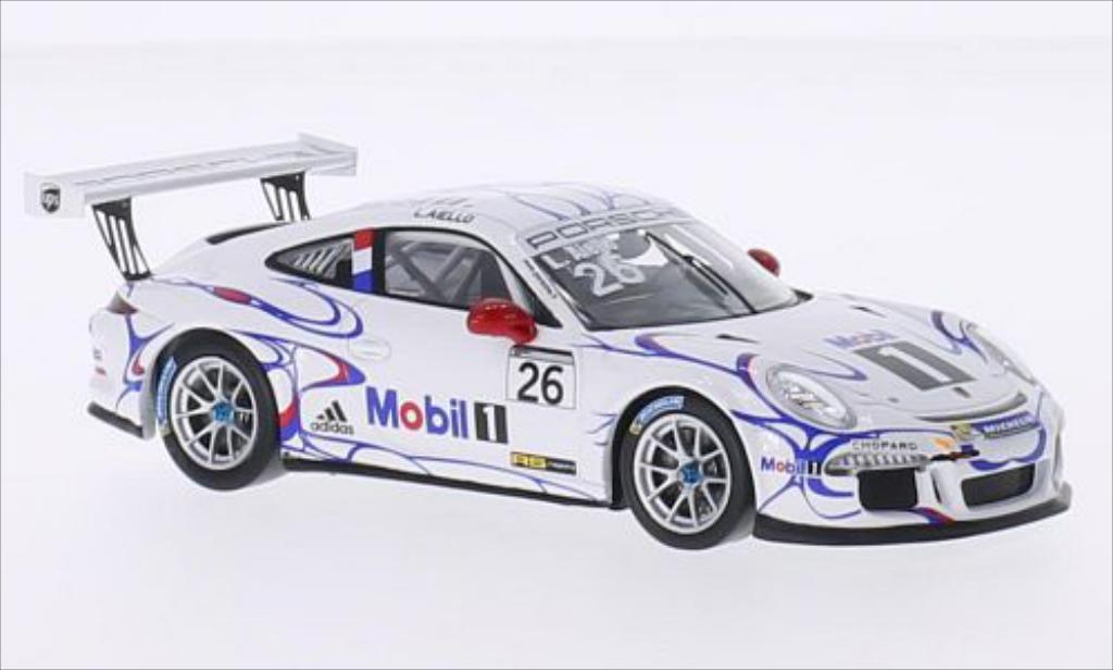 Porsche 991 GT3 Cup No.26 24h Le Mans 2014 MCW. Porsche 991 GT3 Cup No.26 24h Le Mans 2014 modellauto 1/43