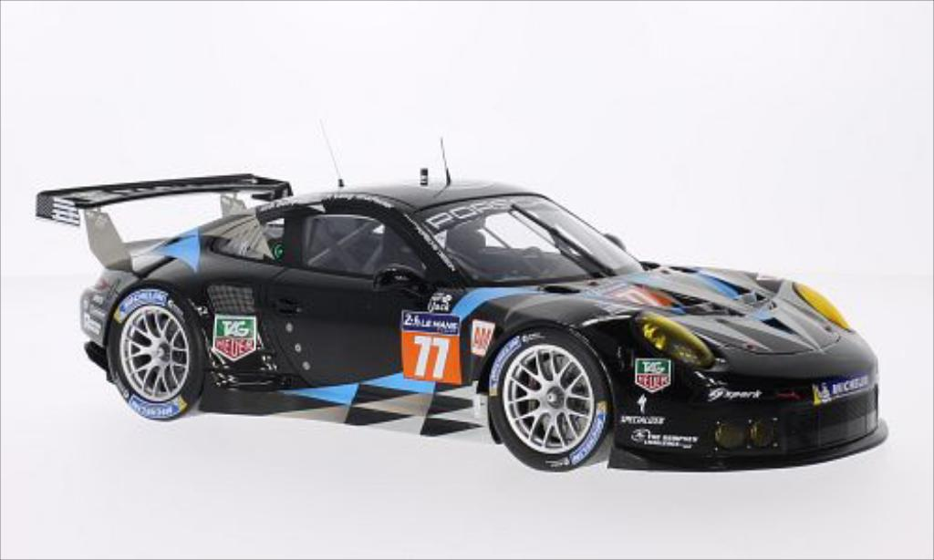 Porsche 991 1/18 Spark R No.77 Dempsey Racing-Prossoon Competition Le Mans Le Mans 2014 /P.Long miniatura
