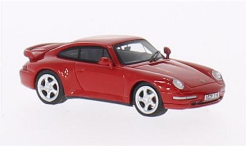 Porsche 993 Turbo 1/87 Minichamps rouge 1995 miniature
