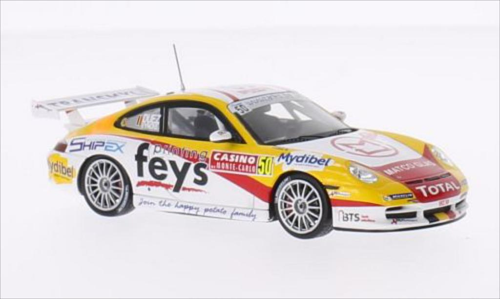 Porsche 996 GT3 1/43 Spark No.50 Rally Monte Carlo 2014 /S.Vyncke miniature