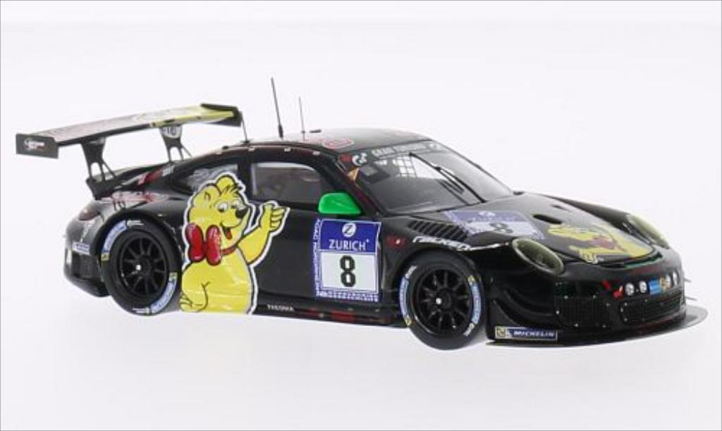 Porsche 997 GT3 1/43 Spark R No.8 Haribo Racing Team Haribo 24h Nurburgring 2014 /H.G diecast model cars