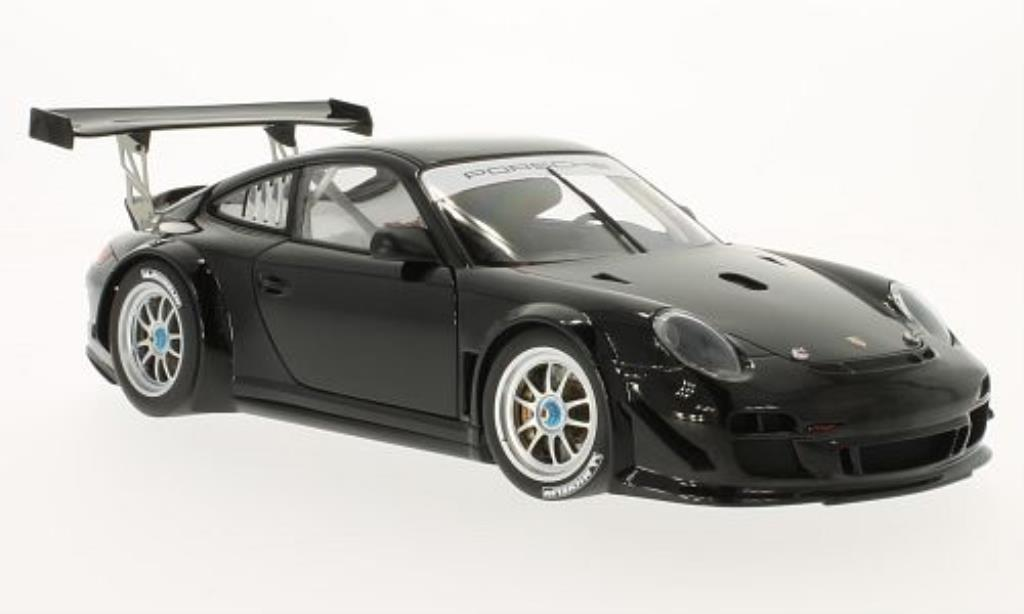 Porsche 997 GT3 1/18 Autoart R Plain Body Version black 2010 diecast model cars
