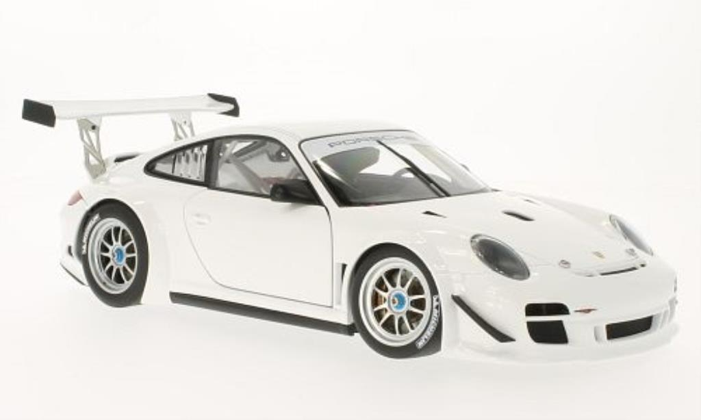 Porsche 997 GT3 1/18 Autoart R Plain Body Version white 2010 diecast model cars