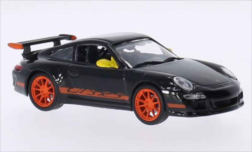 porsche 997 gt3 rs schwarz mcw modellauto 1 43 kaufen verkauf modellauto online. Black Bedroom Furniture Sets. Home Design Ideas