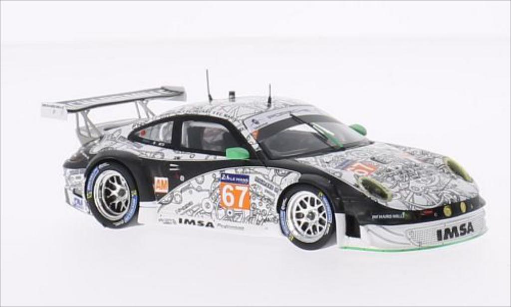 Porsche 997 GT3 1/43 Spark R No.67 IMSA Performance Matmut Imsa Performance Matmut 24h Le Mans 2014 /J.M modellino in miniatura