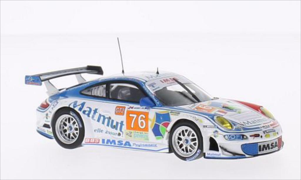 Porsche 997 GT3 1/43 Minichamps R No.76 Imsa Performance Matmut Matmut 24h Le Mans 2010 /P.Long diecast model cars