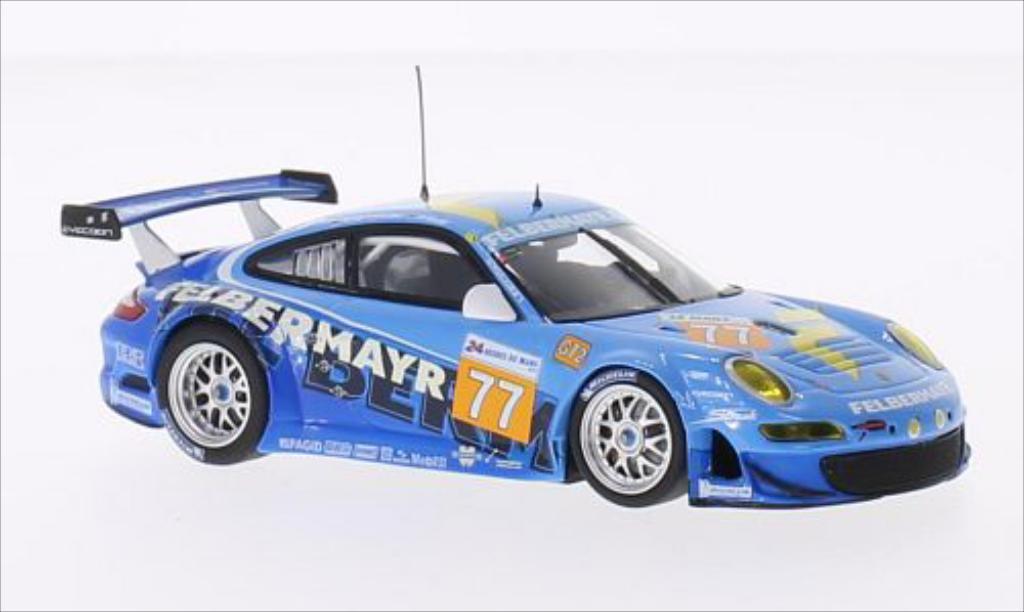 Porsche 997 GT3 1/43 Minichamps R No.77 Team Felbermayr 24h Le Mans 2010 /R.Lietz modellino in miniatura