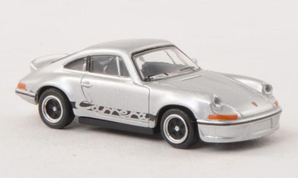 Porsche 911 1/87 Schuco Carrera 2.7  grise/noire miniature
