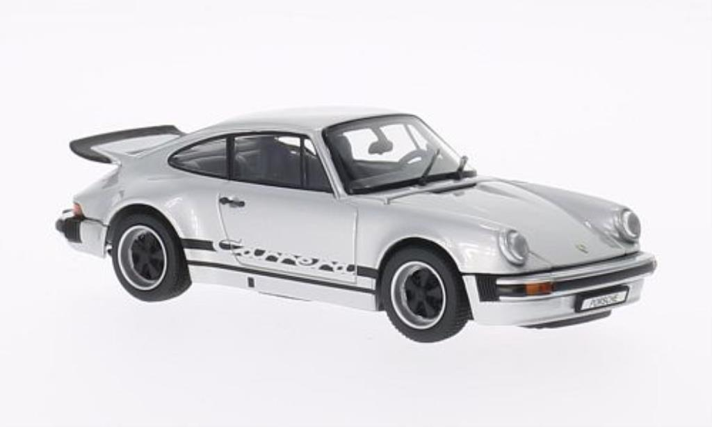Porsche 930 1/43 Kyosho Carrera 2.7 gray mit blacker Dekoration 1975 diecast