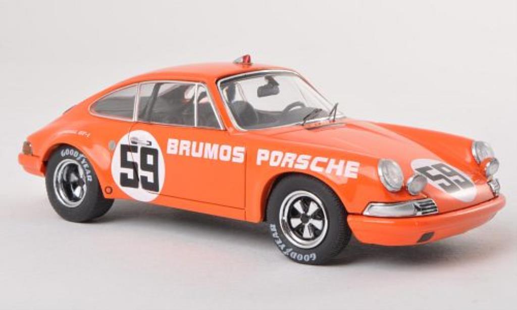Porsche 911 1/43 Schuco Carrera 2.8 R Brumos No.59 IMSA 1972 /H.Haywood miniature