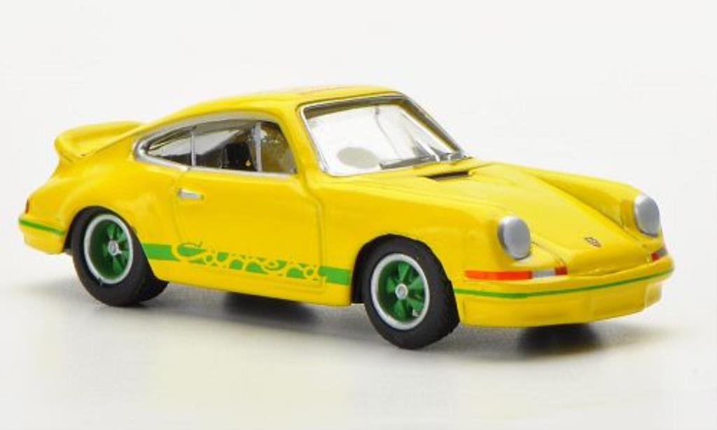 Porsche 997 1/87 Bub Carrera  2.7 yellow/green World Meeting 2012 diecast