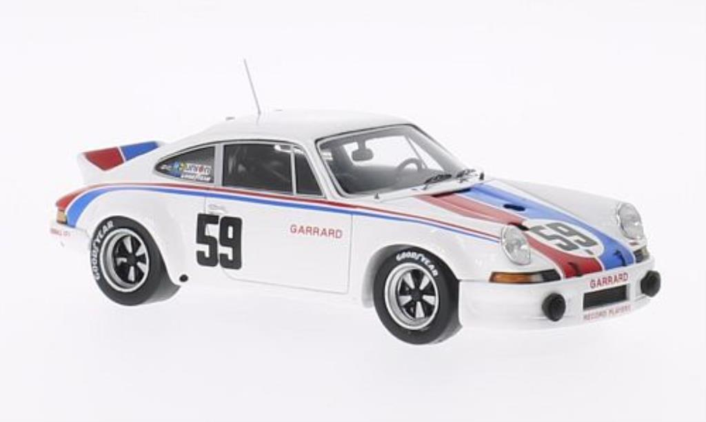 Porsche 911 1/43 Spark Carrera R No.59 24h Daytona 1973 /H.Haywood diecast model cars