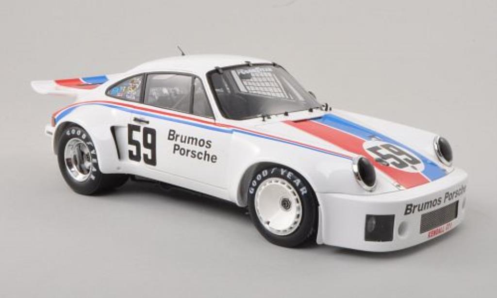 Porsche 930 1/18 Spark Carrera R No.59 Brumos 24h Daytona 1975 /H.Haywood miniature
