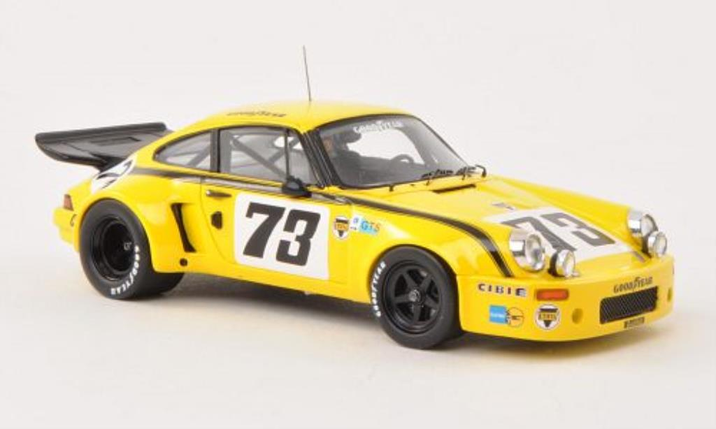 Porsche 930 1/43 Spark Carrera R No.73 24h Le Mans 1974 /P.Blancpain