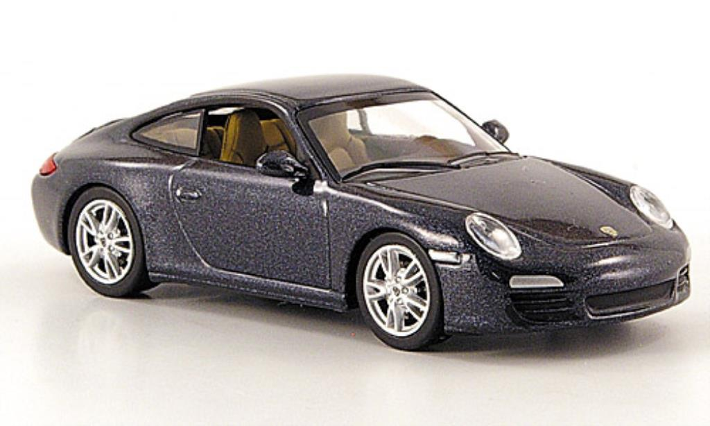 Porsche 997 S 1/64 Minichamps Carrera grey 2008 diecast model cars