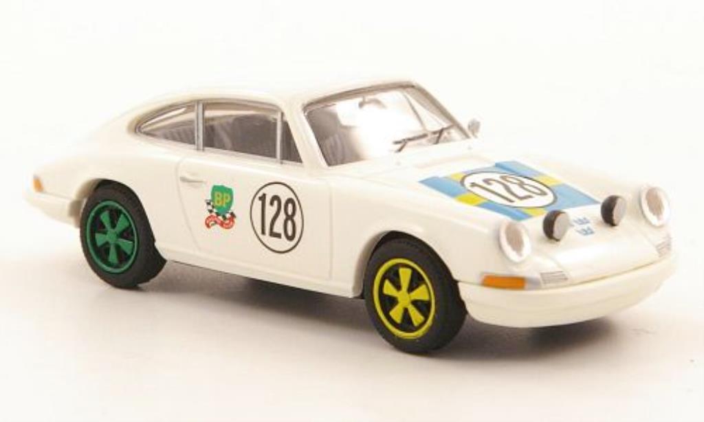 Porsche 911 1/87 Brekina Coupe No.128 Tre Kronor Team (S) miniature