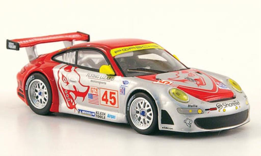 Porsche 997 1/64 Minichamps GT 3 R No.45 Flying Lizard 12h Sebring 2007 miniature
