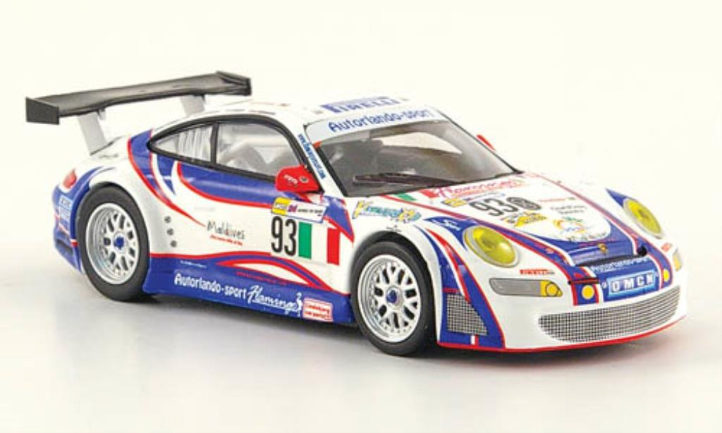 Porsche 997 1/64 Minichamps GT 3 R No.93 24h Le Mans 2007 /Ehret miniature