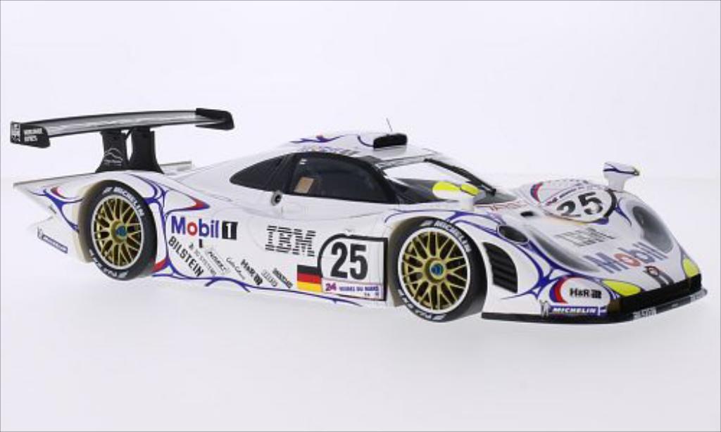Porsche 996 1/18 Spark GT1 No.25 24h Le Mans 1998 /B.Wollek miniature