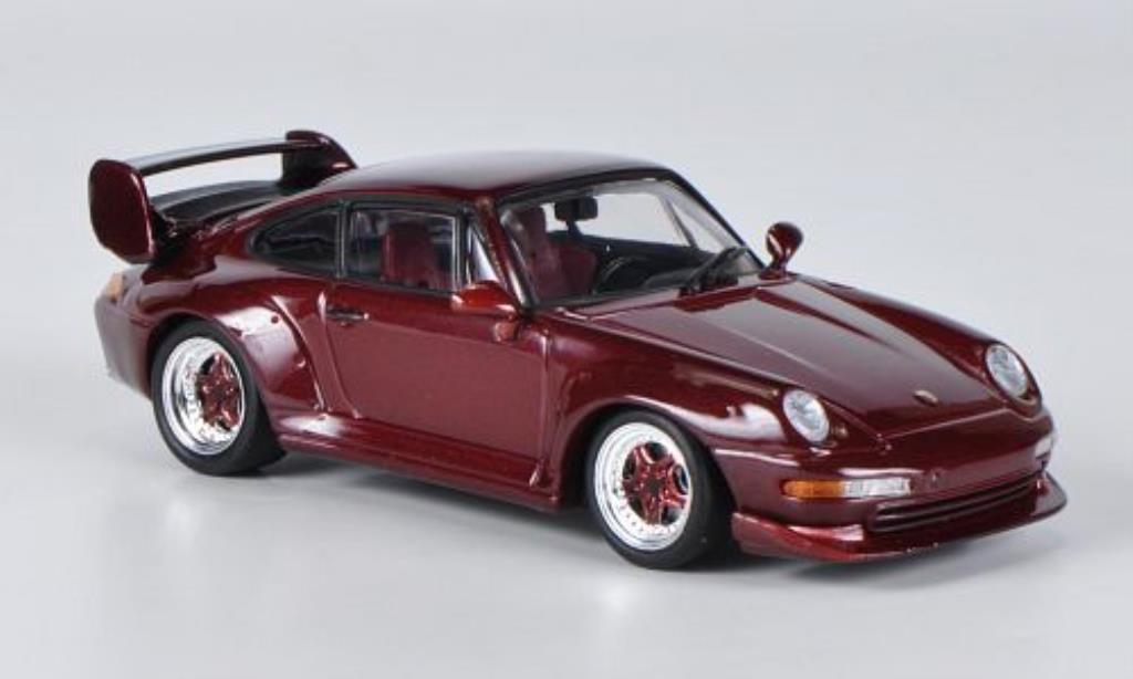 porsche 911 gt2 red 1995 minichamps diecast model car 1 43. Black Bedroom Furniture Sets. Home Design Ideas