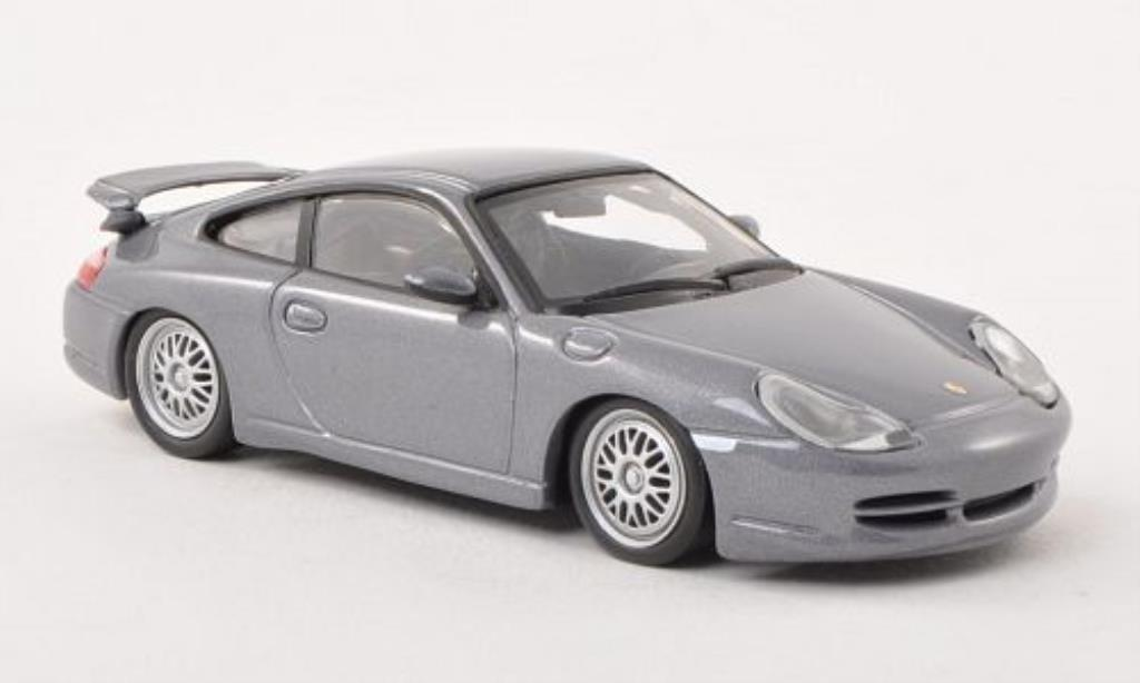 Porsche 996 GT3 1/43 Minichamps grise 1998 miniature