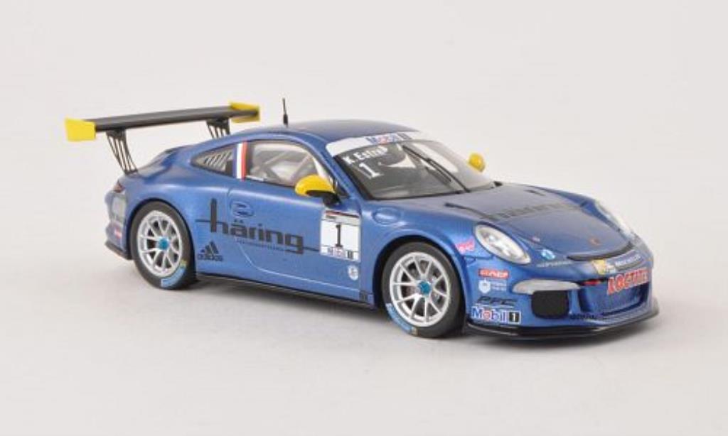 Porsche 991 GT3 1/43 Spark Cup No.1 PCC Deutschland 2013 miniatura