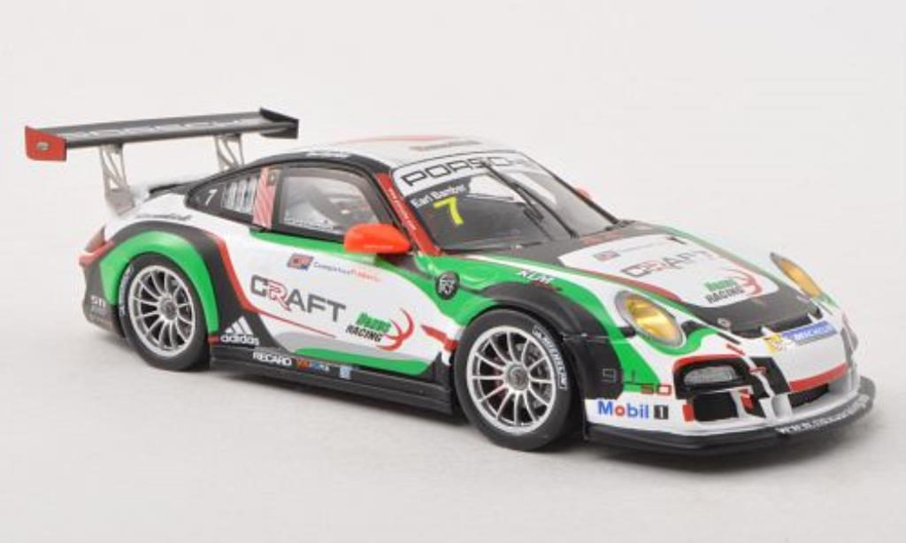 Porsche 997 GT3 CUP 1/43 Spark GT3 Cup No.7 Craft Racing Carrera Cup Asia 2013 diecast model cars