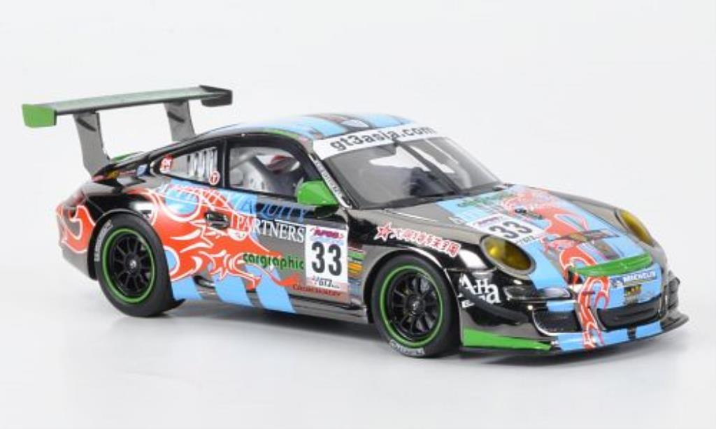 Porsche 997 1/43 Minichamps GT3 Cup S No.33 Asian Festival Of Speed 2009 miniature