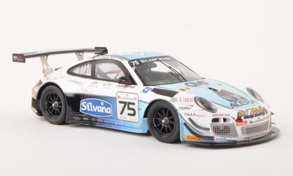 Porsche 997 GT3 1/43 Spark R No.75 24h Spa 2013 /M.Soulet diecast model cars