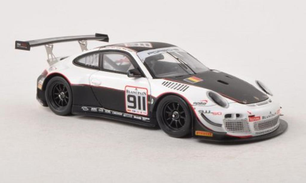 Porsche 991 GT3 R 1/43 Spark No.911 24h of Spa 2013 /M.Mapelli diecast model cars